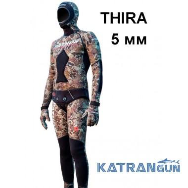 Гідрокостюм з унікальним камуфляжем Pathos Thira, 5 мм