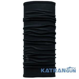 Багатофункціональна бандана Buff 3/4 Lightweight Merino Wool black