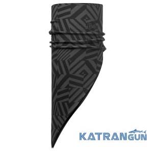 Бандана для зимових видів спорту Buff Polar Bandana grey graphite/black