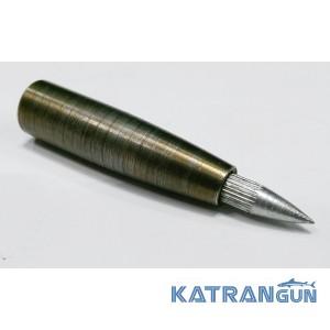 Голова под наконечники для подводной охоты KatranGun, сменный дюбель