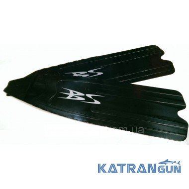 Лопаті для ласт BS Diver Orca; пластик; м'які (нового зразка) пара