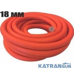 Тяги в бухтах Prime Line; диаметр 18 мм; прозрачная в оранжевой оболочке