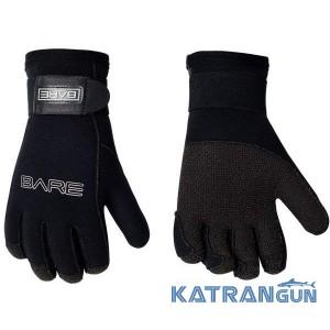 Дайверские перчатки Bare K-Palm Gauntlet Glove 5 мм