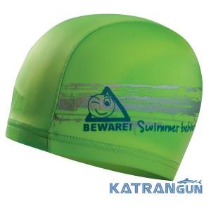 Шапочка для плавания Salvimar Wawi; зеленый