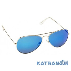Спортивные солнцезащитные очки Cressi Sub Nevada Silver/Blue lens