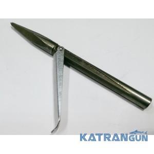 Накінечник для підводної рушниці KatranGun, чотиригранний, 1 прапорець