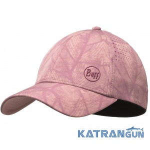 Легкая женская кепка Buff Trek Cap lenny purple lilac