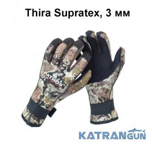 Рукавички для полювання і дайвінгу Pathos Thira Supratex, 3 мм