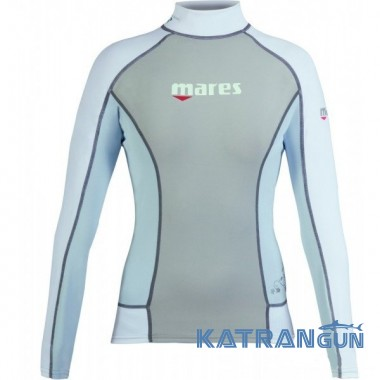 Одежда для плавания с уф защитой Mares Trilastic Long Sleeve Rash Guard