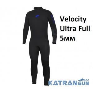 Гидрокостюм для дайвинга Bare Velocity Ultra Full 5 мм