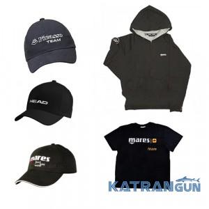 Брендовая одежда для подводных охотников и дайверов