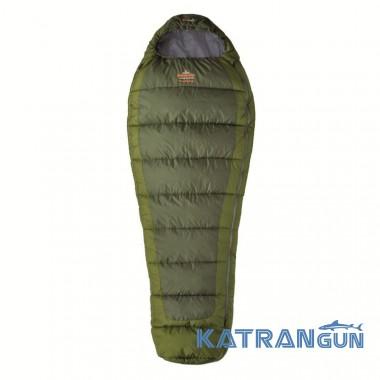 Спальный мешок всесезонный Pinguin Trekking, Khaki