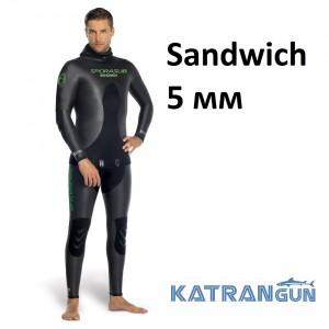 Гидрокостюм голый Sporasub Sandwich 5 мм