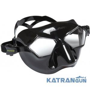 Фридайверська маска Salvimar Incredible, чорний силікон / прозорі лінзи