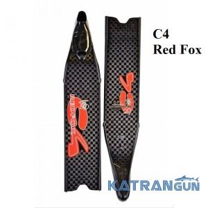Ласты карбон C4 Red Fox