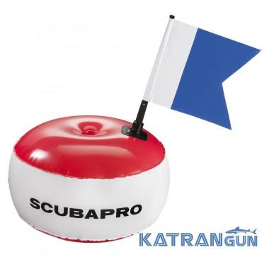 Круглый Буй Scubapro Signal Buoy With Alpha Flag