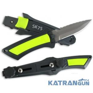 Нож для дайвинга Scubapro SK-75 Titanium