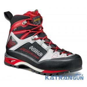 Ботинки для альпинизма Asolo Freney Mid GV MM, Black/Silver