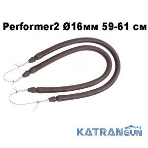 Пара кольцевых тяг Omer Performer2 ø16 мм 59-61 см; зацеп Dyneema