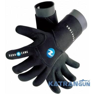 Рукавички для підводного полювання і дайвінгу AquaLung Dry Comfort, 4 мм