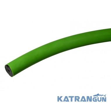 Тяга Salvimar на метраж клас A; 16 ~ 17 мм; чорна в зеленій оболонці
