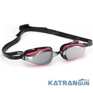 Женские стартовые очки Michael Phelps K180 Lady; зеркальные линзы