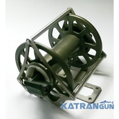 Котушка для підводної рушниці Заславца; алюмінієва
