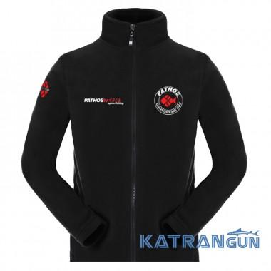Мужская флисовая кофта Pathos FLEECE Jacket, черная