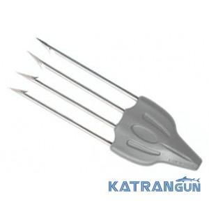 Чотиризубий трезуб для подводного ружья Salvimar Speed4 Mustad