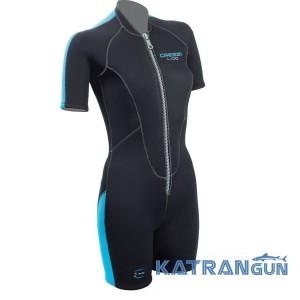 Женские гидрокостюмы для плавания Cressi Sub Lido Lady 2 мм