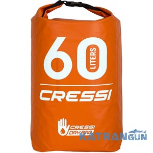 Герморюкзак для плавання Cressi Sub Dry Back Pack Orange 60 л