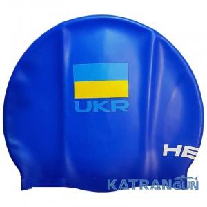 Силиконовая шапочка для плавания Head Silicone Flat Ukr