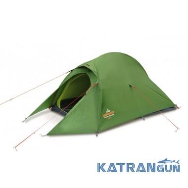 Легкая туристическая палатка Pinguin Arris, Green