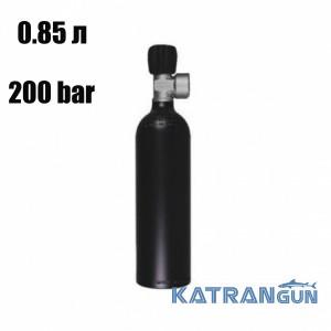 Балони для дайвінгу маленькі BTS; 0.85 л; 200 Bar