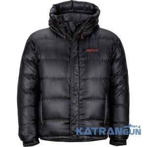 Пуховая куртка мужская Marmot Greenland Baffled Jacket, black