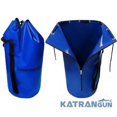 Гермомешок для снаряжения KatranGun Баул (от LionFish) 125 л; на молнии; с двумя плечевыми ремнями