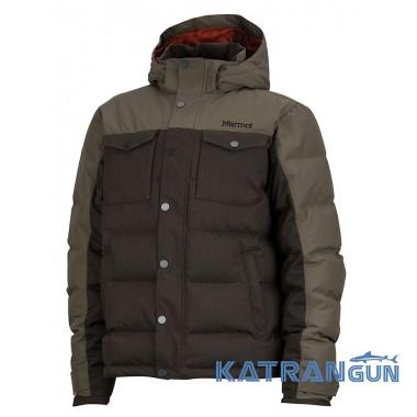 Пуховики мужские молодежные Marmot Fordham Jacket, Deep Olive