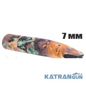 Неопреновый гульфик для гидрокостюма Marlin Camo Brown 7 мм