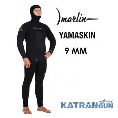 Гидрокостюм для подводной охоты зимой Marlin Yamaskin 9 мм