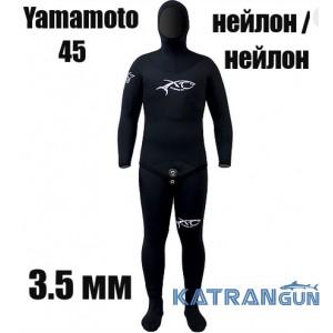 Гідрокостюм для фрідайвінгу 3.5 мм XT Diving Pro Yamamoto 45; нейлон / нейлон