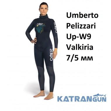 Гидрокостюм женский для фридайвинга Omer Umberto Pelizzari Up-W9 Valkiria 7/5 мм