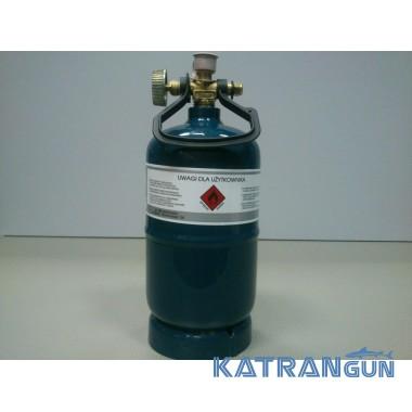 Газовый баллон маленький  VÍTKOVICE BT-0,5