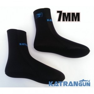 Неопренові шкарпетки для ласт KatranGun 7 мм