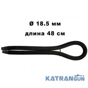 Тяга кільцева Epsealon ShockWave; 18.5 мм, довжина 48 см, чорна