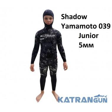 Гидрокостюм подростковый Epsealon Shadow Yamamoto 039 Junior 5мм