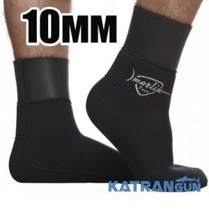 Неопреновие шкарпетки для підводного полювання Marlin WaterLock Sandwich, 10 мм