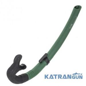 Трубка для подводной охоты Marlin Matte, зеленая
