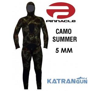 Гидрокостюм для подводной охоты 5 мм Pinnacle Camo Summer