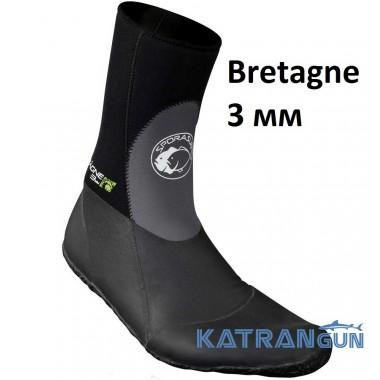 Шкарпетки з підошвою Omer Bretagne 3 мм