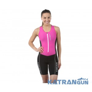 HEAD SWIMMING Стартовий костюм для тріатлону жіночий чорно-рожевий